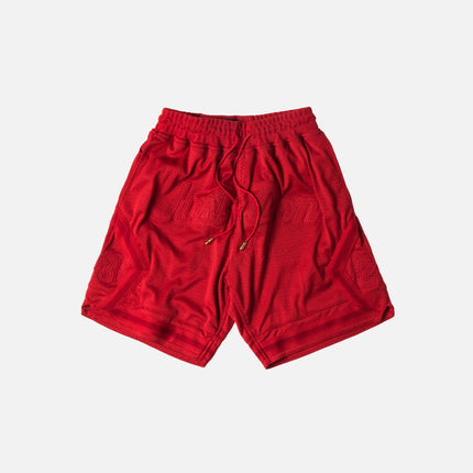 Just Don Basketball Shorts - Red