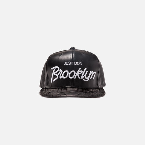 Just Don Brooklyn Cap - Triple Black