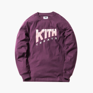 Kith Treats Melting L/S Tee - Purple