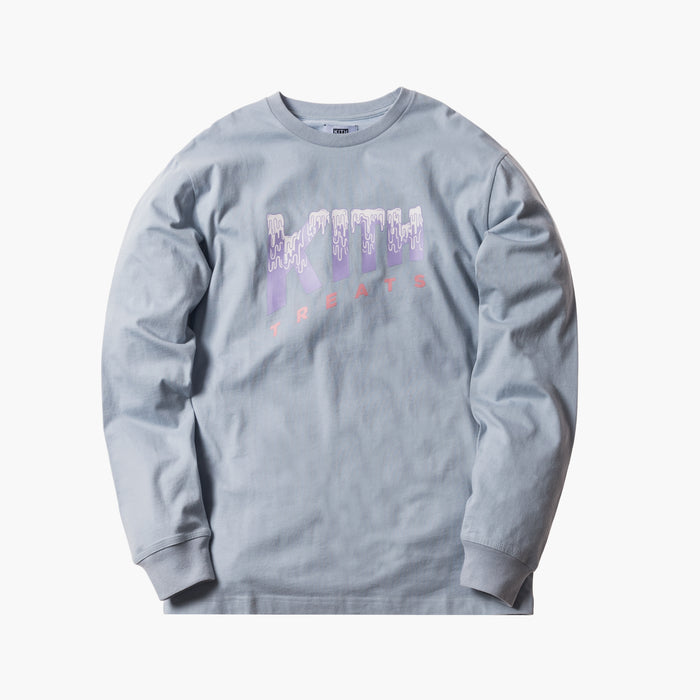 Kith Treats Melting L/S Tee - Light Blue