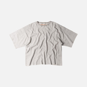 Kapital Waffle Jersey Army Gym Big Tee - Grey