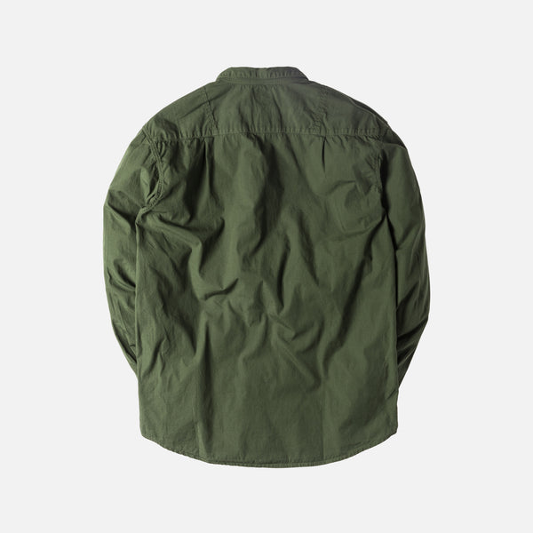 Kapital Broad Cloth Anorak Button-Up - Olive