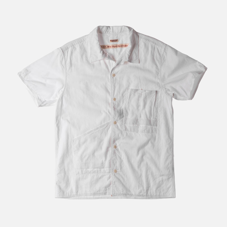 Kapital Aloha Button-Up - White