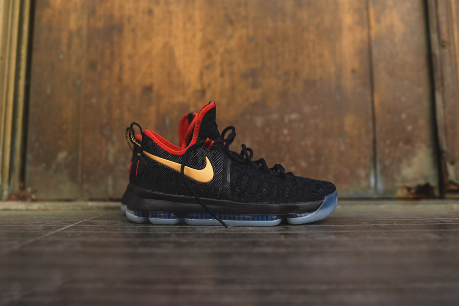 Nike Zoom KD 9 LMTD - Dark Obsidian / Metallic Gold