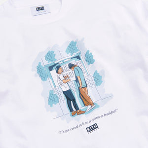 Kith Treats Chronicles Breakfast L/S Tee - White