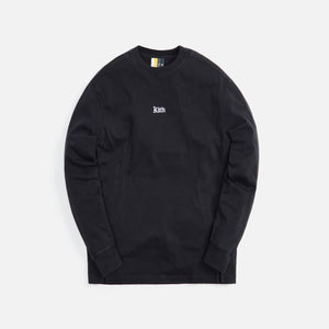 Kith L/S Paneled Pullover - Black
