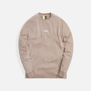 Kith L/S Paneled Pullover - Quicksand