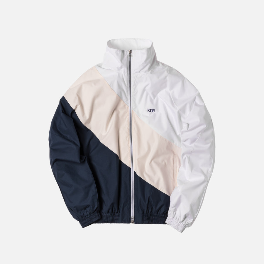 Kith Atlanta Windbreaker - White / Off-White / Navy