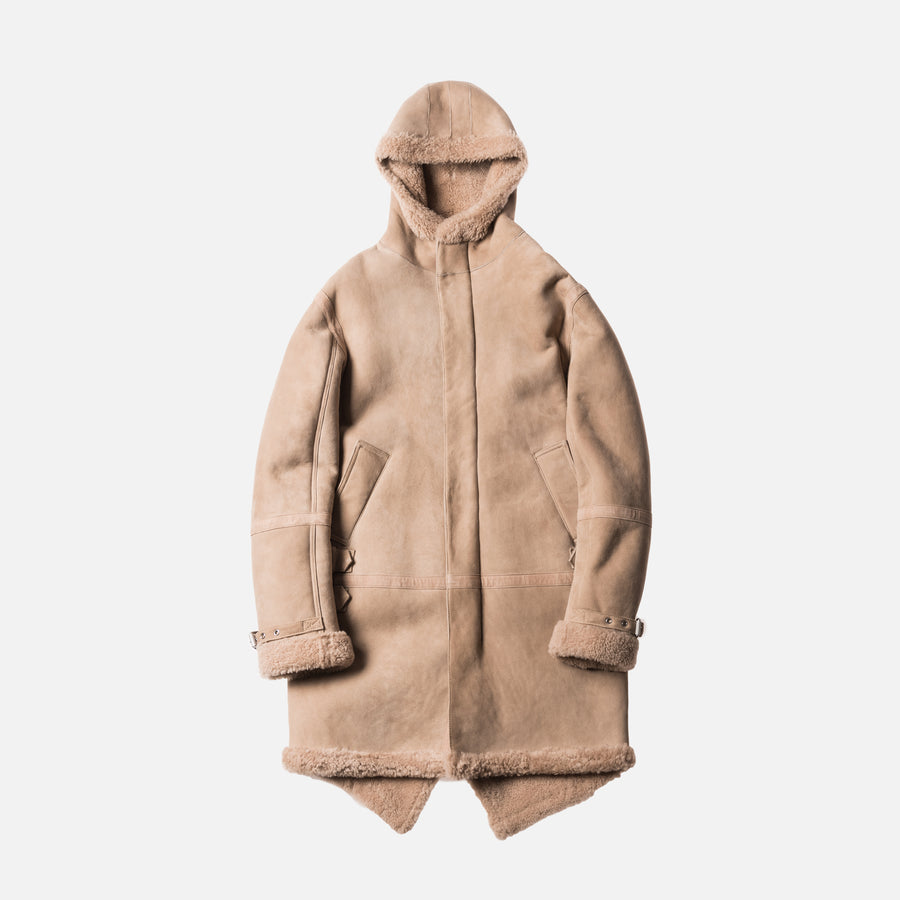 Kith Hilldale Shearling Parka - Sand