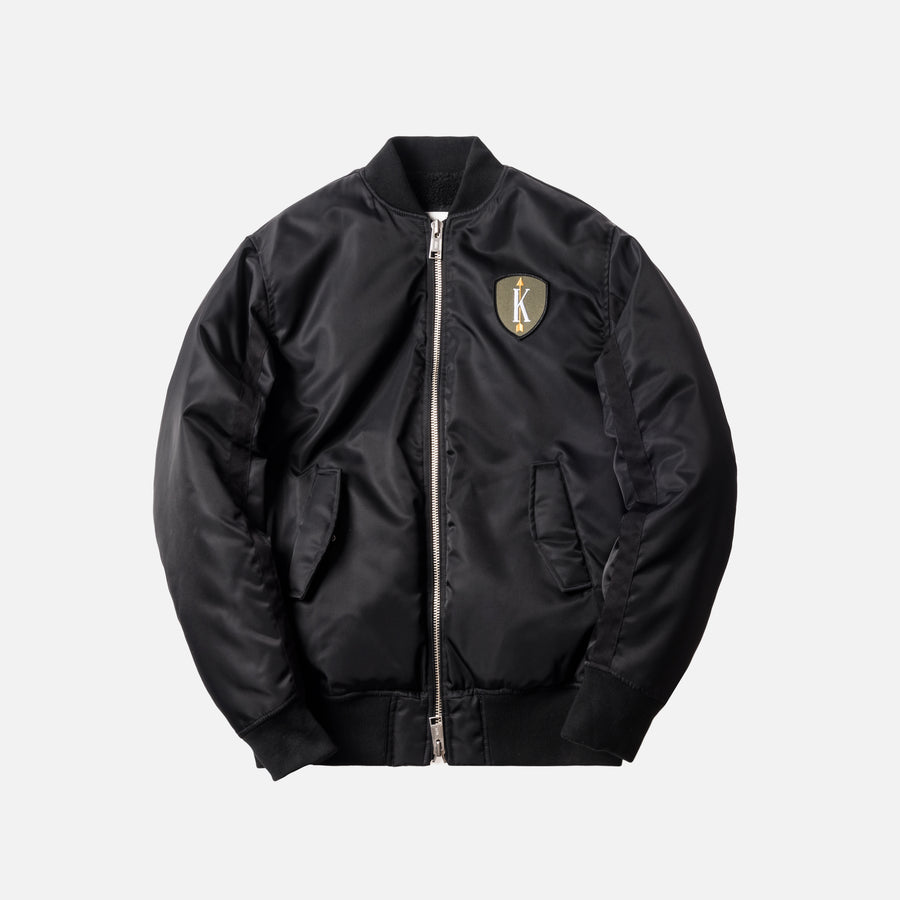 Kith Winfield Bomber Jacket - Black