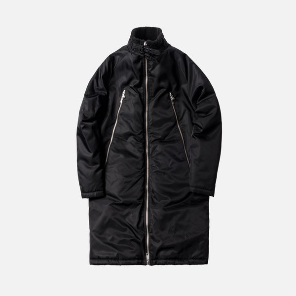 Kith Kenney Long Flight Coat - Black