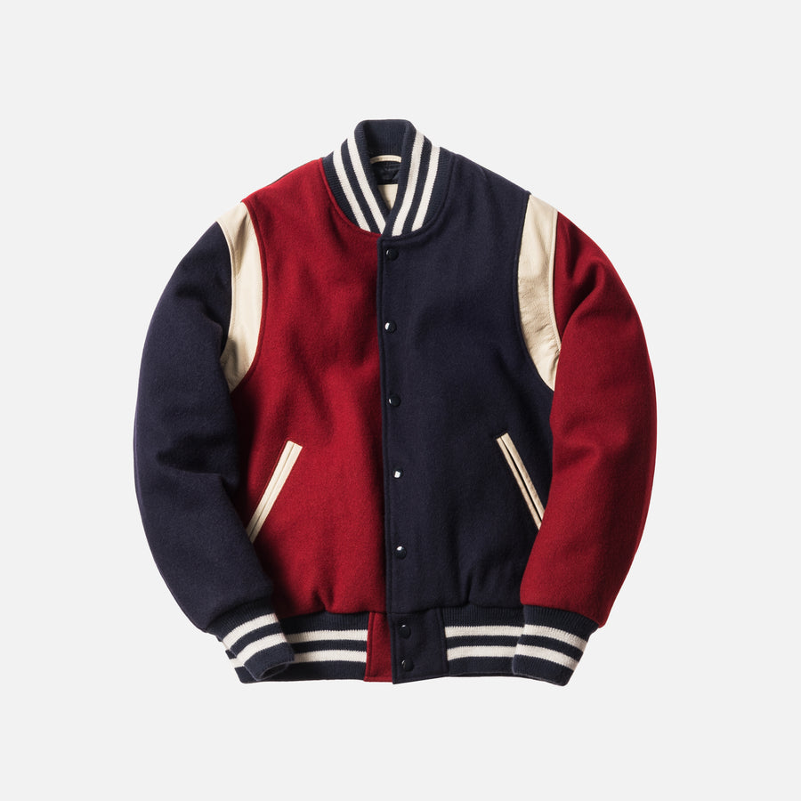 Kith x Bergdorf Goodman x Golden Bear Varsity Jacket - Multi