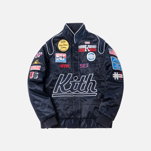 Kith Racing Jacket - Navy