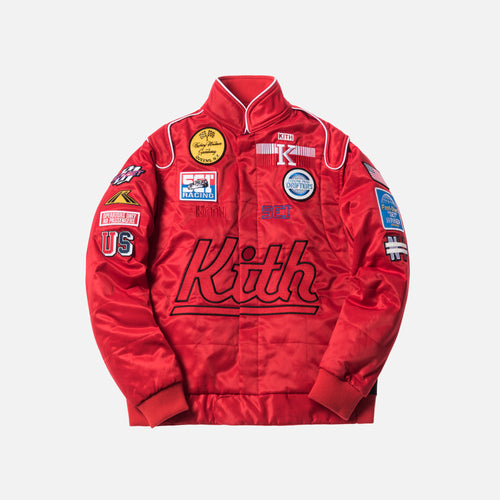 Kith Racing Jacket - Red