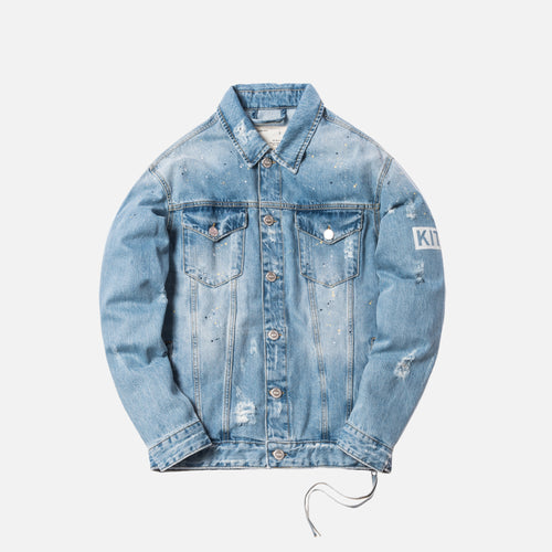 Kith Laight Denim Jacket - Hosu Blue