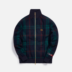 Kith for Bergdorf Goodman Lewis Track Jacket - Navy / Green Plaid