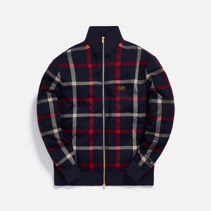 Kith for Bergdorf Goodman Roger Track Jacket - Navy / Red Plaid
