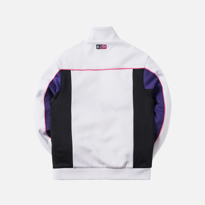 Kith x United Arrows & Sons x New Balance Tracktop - White / Purple