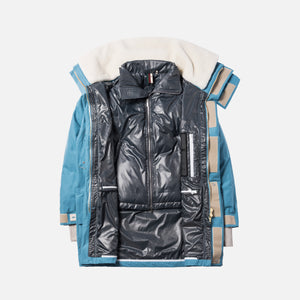 Kith 930 Summit Down Parka - Blue