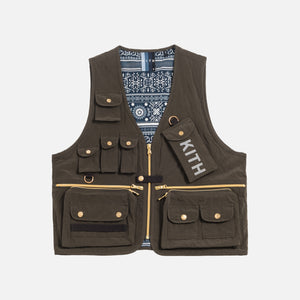 Kith Tactical Vest - Black Olive Image 1