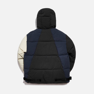 Kith Color-blocked Puffer Jacket - Battleship