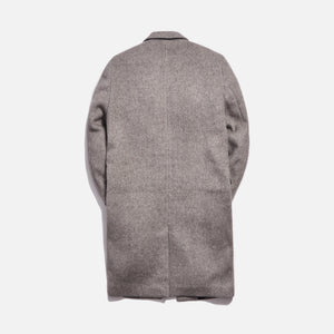 Kith Royce Wool Overcoat - Light Grey