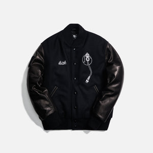Kith x Golden Bear x Def Jam Varsity Jacket - Black