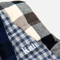 Kith Charlton Reversible Quilted Vest - Blue / Multi Thumbnail 3