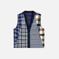 Kith Charlton Reversible Quilted Vest - Blue / Multi Thumbnail 1