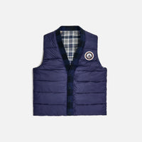 Kith Charlton Reversible Quilted Vest - Blue / Multi Thumbnail 5