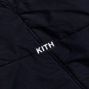 Kith Quilted Jacket - Black Image 3