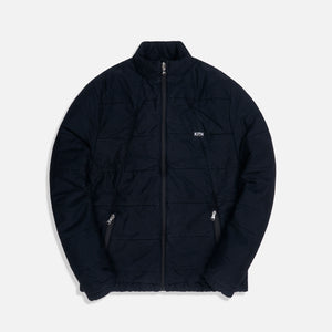 Kith Quilted Jacket - Black