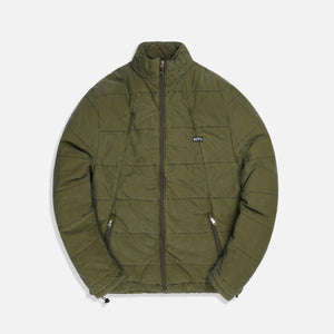 Kith Quilted Jacket - Olive