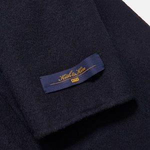 Kith Shawl Collar Becker Coat - Black Image 6