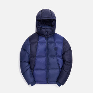 Kith Colorblocked Midi Puffer - Navy / Multi