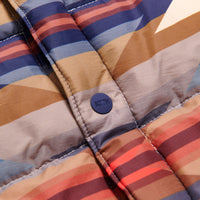 Kith for Pendleton Wyeth Trail Puffer Shirt Jacket - Tan / Multi Thumbnail 6