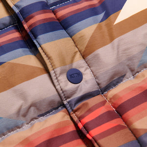 Kith for Pendleton Wyeth Trail Puffer Shirt Jacket - Tan / Multi Image 6