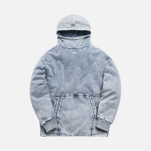 Kith Double Pocket Hoodie - Light Indigo
