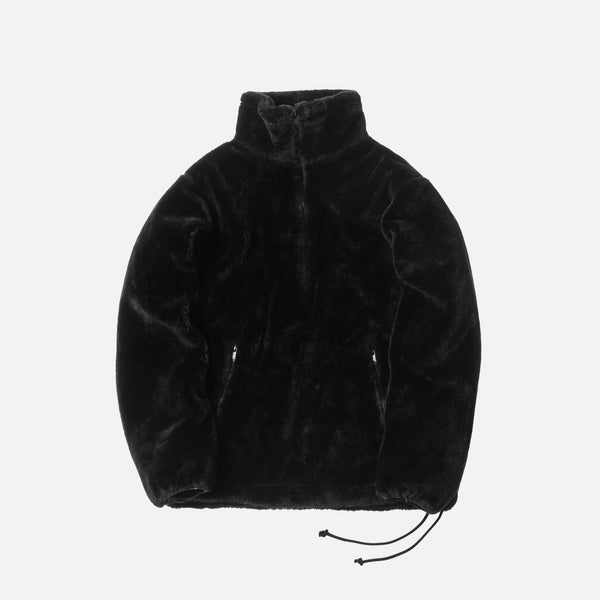 Kith x nonnative Sherpa Quarter-Zip - Black