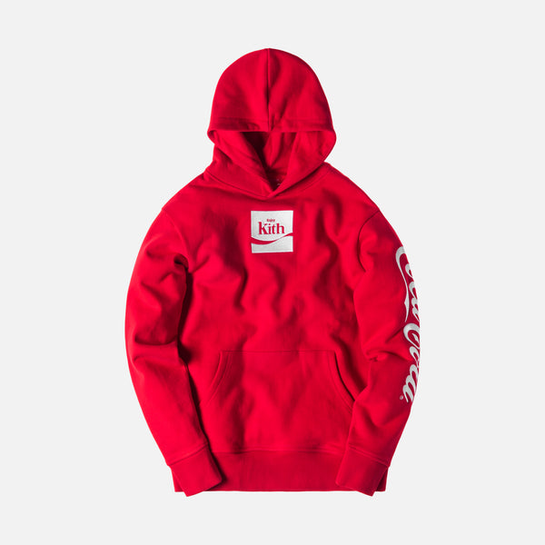 Kith x Coca-Cola Enjoy Kith Hoodie - Red