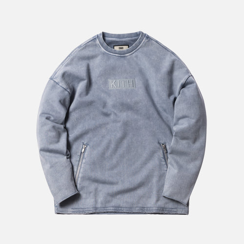 Kith Indigo Redfield Crewneck - Light Indigo