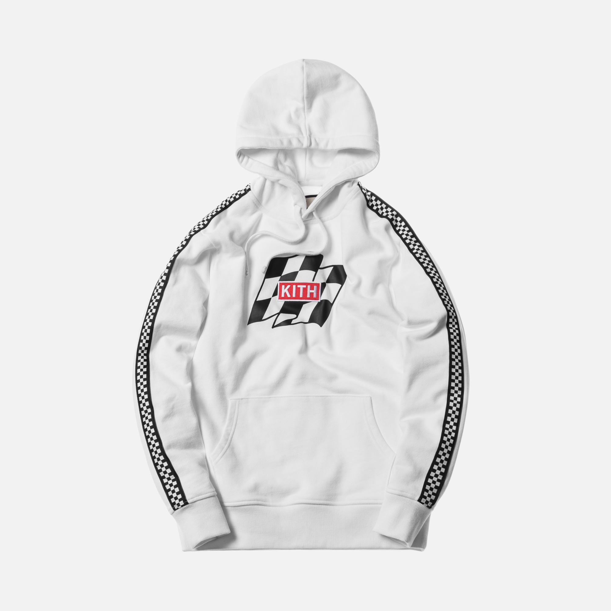 Kith Flag Wave Hoodie - White
