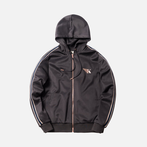 Kith Hooded Track Jacket - Battleship