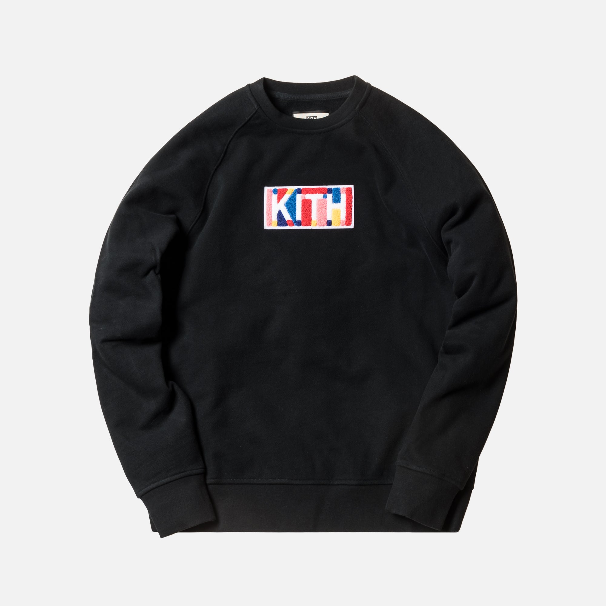 Kith Geo Color Crewneck - Black