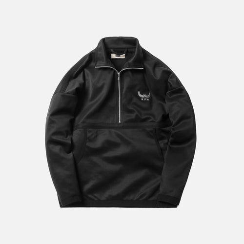 Kith Half-Zip Track Jacket - Black