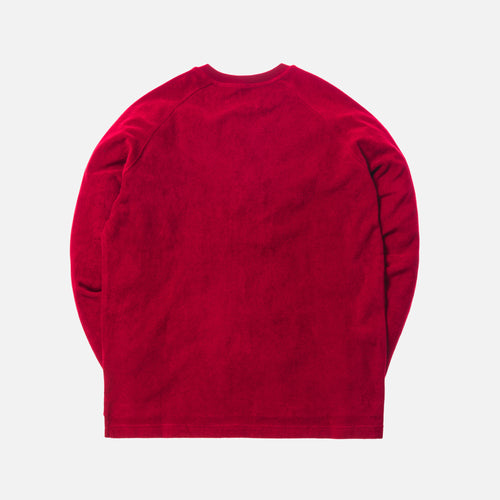 Kith Regal Terry Crewneck - Red