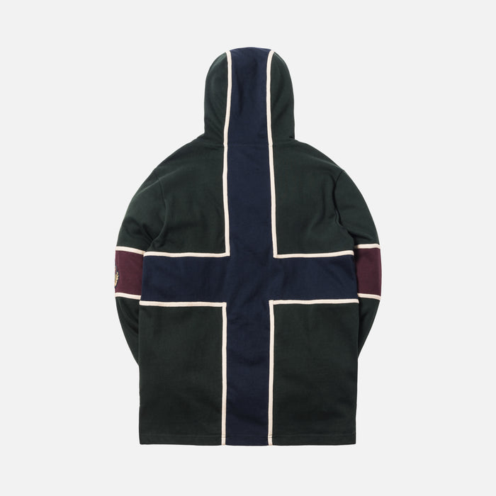 Kith Hooded Rugby - Forest Green