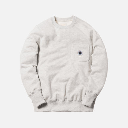 Aimé Leon Dore Crewneck w/ Pocket - Grey
