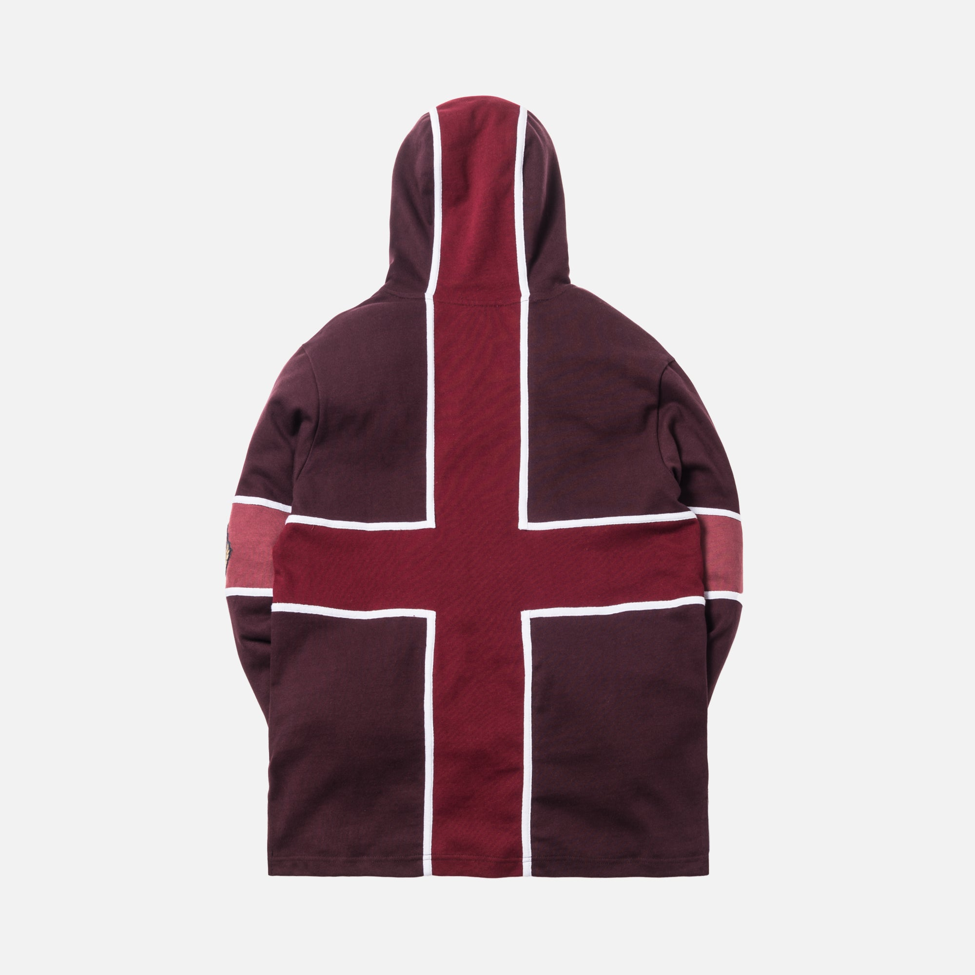 Kith Hooded Rugby - Burgundy