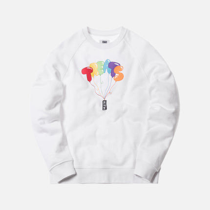 Kith Treats Float Crewneck - White